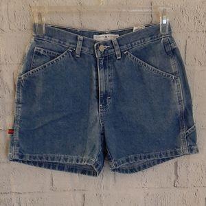 Vintage Tommy Hilfiger High Rise Jean Shorts